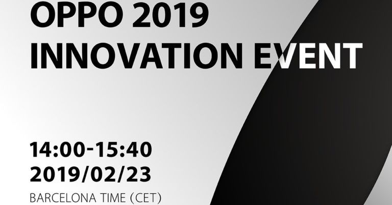 OPPO sends out invites for MWC 2019 event, foldable phone expected