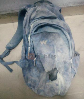 Redmi Note 7 Pro blast image bag watermark crop