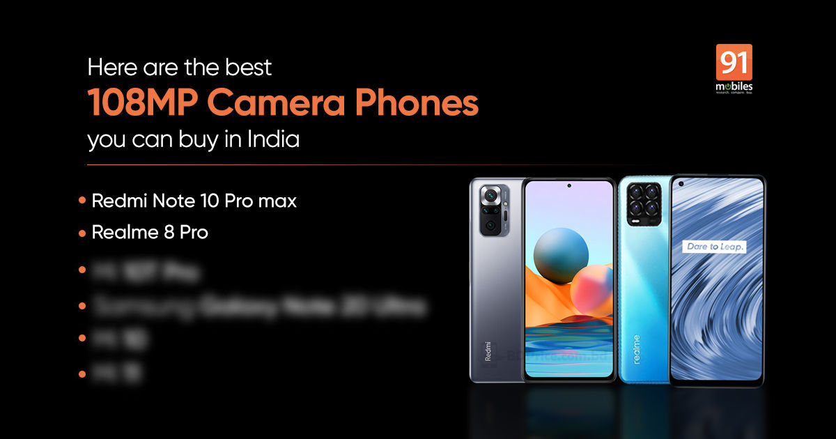 Realme 8 Professional, Redmi Be aware 10 Professional Max, Samsung Galaxy S21 Extremely, Moto G60, and extra