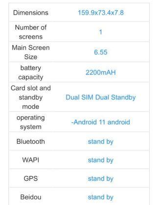 Realme RMX3116 aka Realme X9 Pro