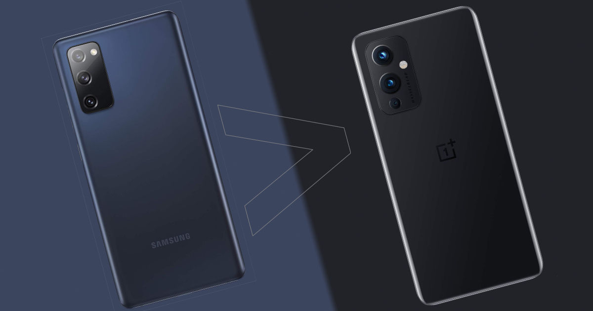 5 reasons why you should choose Samsung Galaxy S20 FE 5G over OnePlus 9