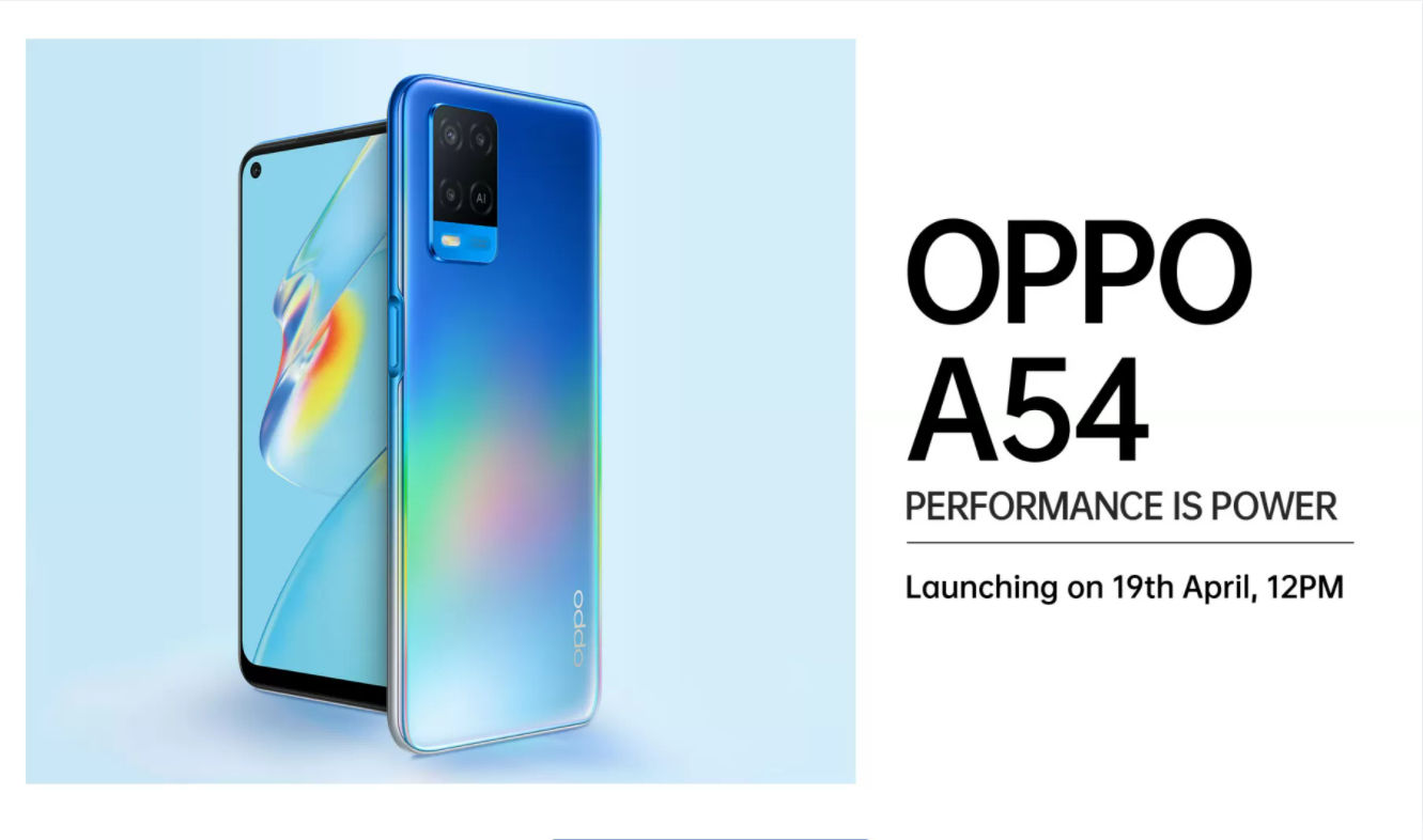 OPPO_A54_India_launch_date