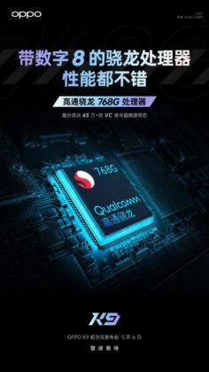 OPPO_K9_processor