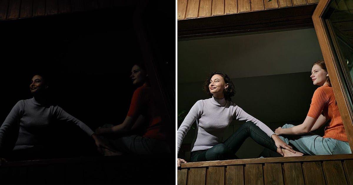 सैमसंग गैलेक्सी S20FE रात कैमरा