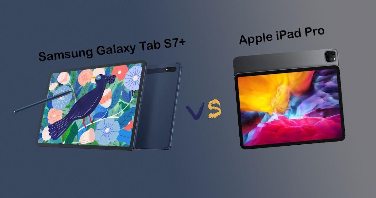 Samsung Galaxy Tab S7+ vs iPad Pro 2020: Tab S7+ edges out ...