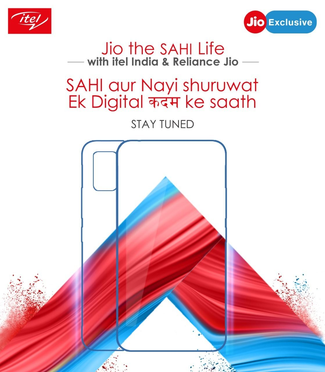 Itel and Reliance Jio teaming up soon to bring low-cost smartphones
