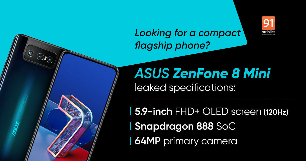 ASUS ZenFone 8 Mini India launch appears imminent after it receives BIS certification