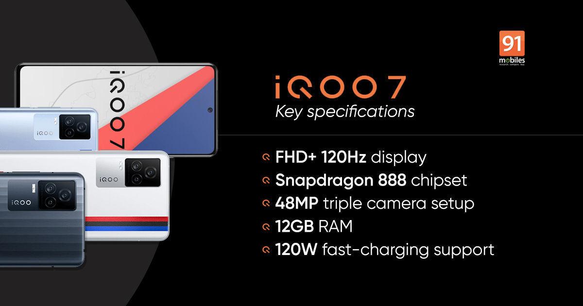 iQOO 7 लीजेंड डिजाइन का मजाक उड़ाया गया है