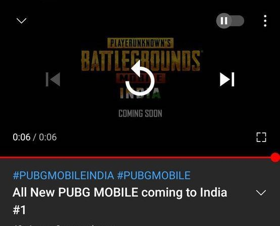 PUBG Mobile India launch teaser