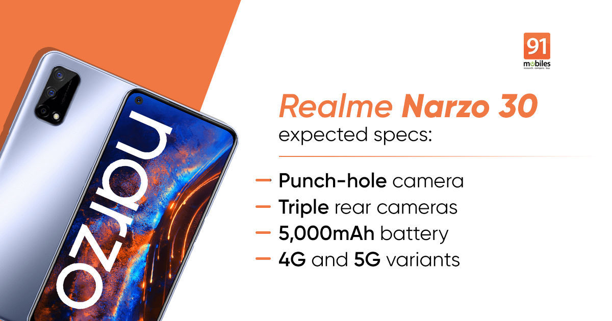 Realme Narzo 30 will function a 90Hz show, in keeping with new promo picture