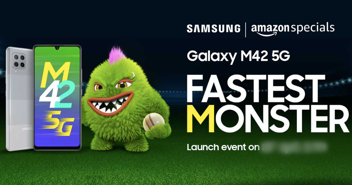 Samsung Galaxy M42 5G launch date in India revealed; Amazon confirms chipset