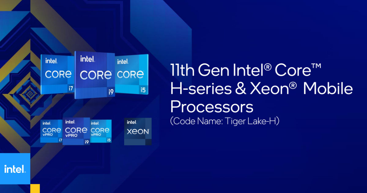 Eleventh Gen Intel Core H-series 'Tiger Lake' processors introduced for gaming laptops