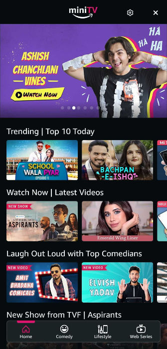 Amazon MiniTV free video streaming service launched in India: what is it, how to use, and more