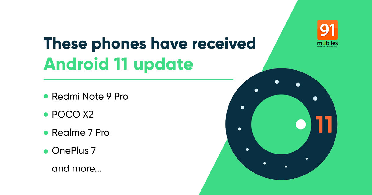 Android 11 update list: OnePlus, Samsung, Realme, and more phones that have received Android 11 update
