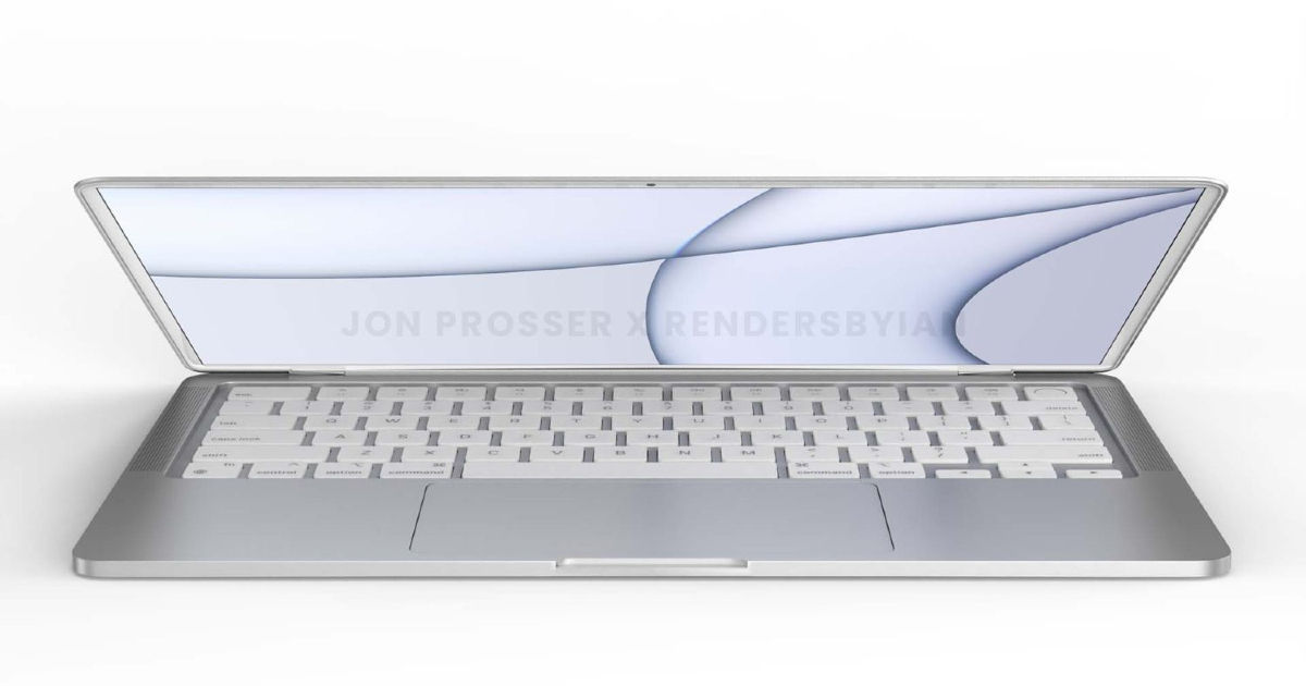 Alleged MacBook Air renders present redesigned keyboard, flat edges, and extra