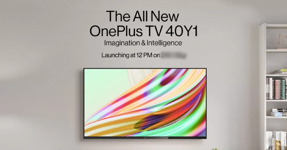 OnePlus TV 40-inch Y-series launch date in India revealed, Flipkart availability confirmed