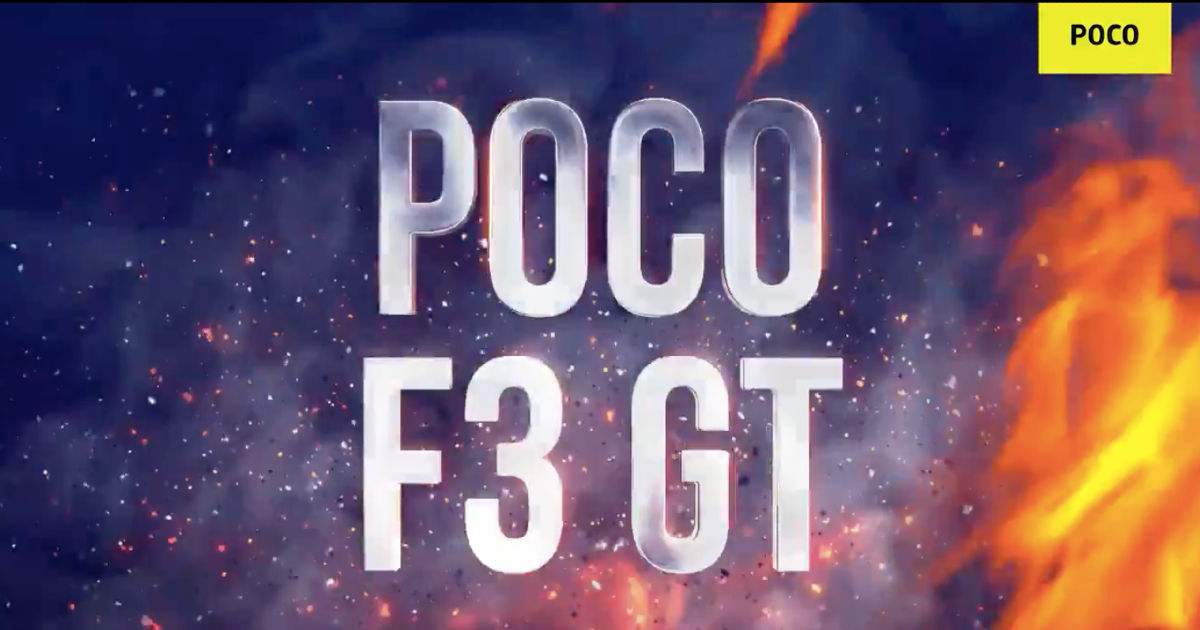 POCO F3 GT India launch formally teased, will arrive in Q3 2021