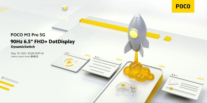 POCO M3 Pro display