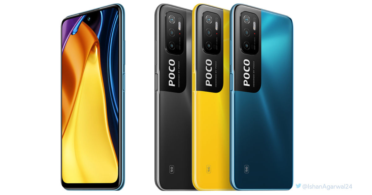 POCO M3 Professional 5G distinctive design revealed by leaked render forward of Could nineteenth launch