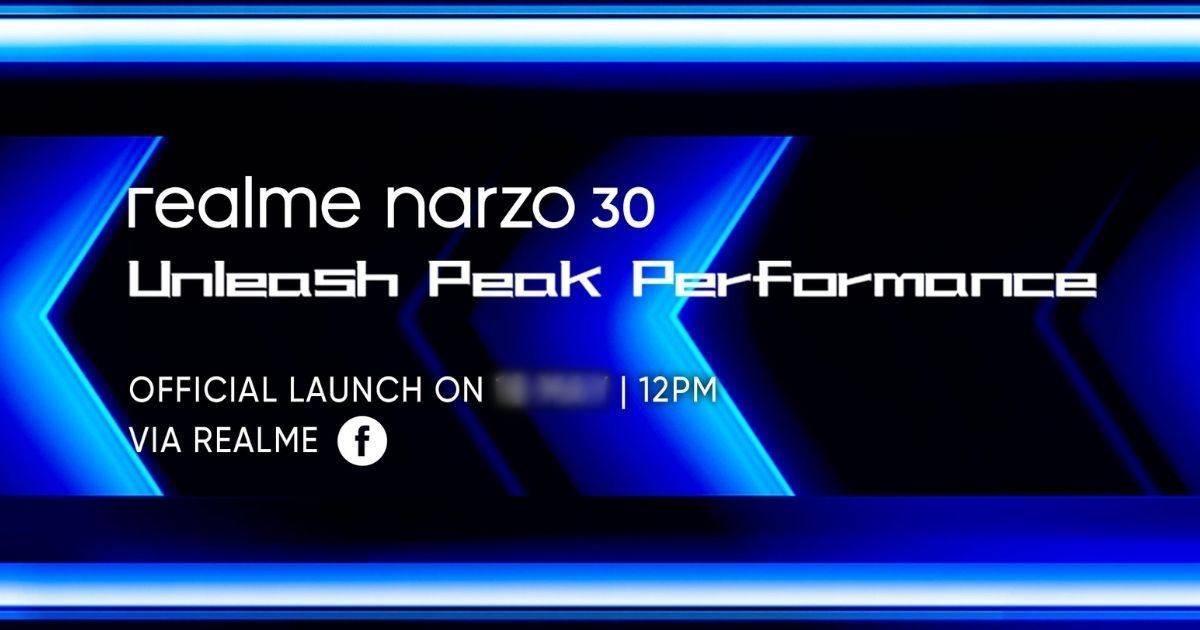 Realme Narzo 30 launch date revealed formally; specs, design leaked through unboxing video