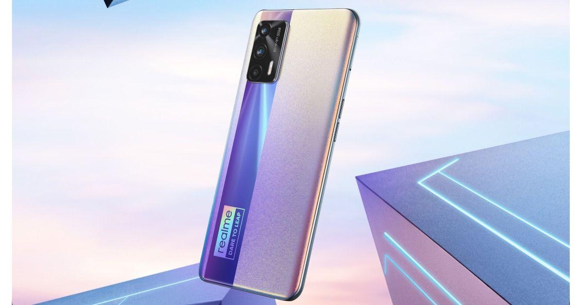 Realme X7 Max 5G design