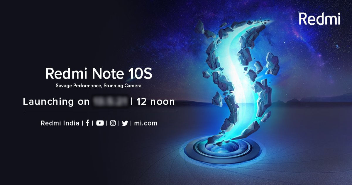 Redmi Notice 10S India launch date formally introduced: full specs, anticipated value, and extra