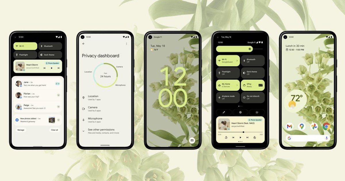 Android 12 introduced with Materials You design, improved privateness, and extra
