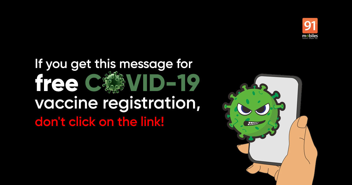 Fake free COVID vaccine registration SMS doing the rounds in India, here's what it looks like
