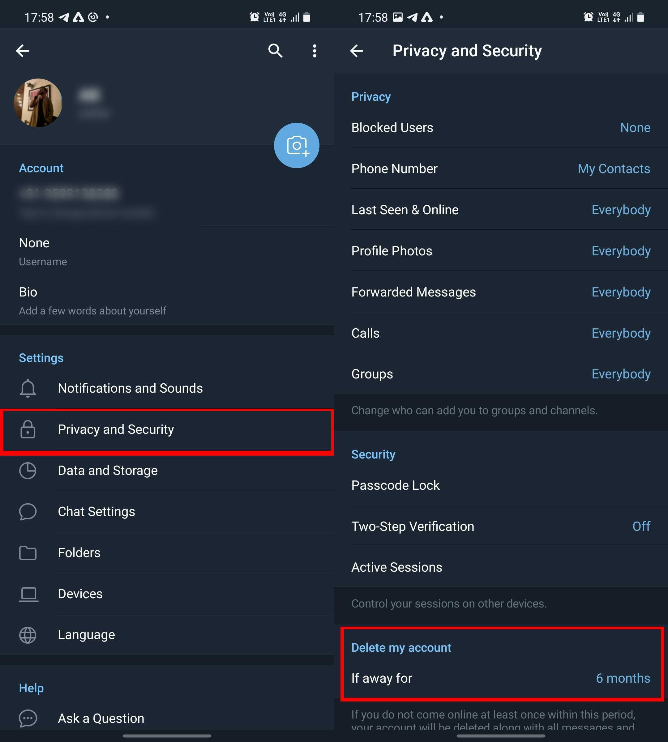 How to delete Telegram account on Android, iOS and PC   20mobiles.com