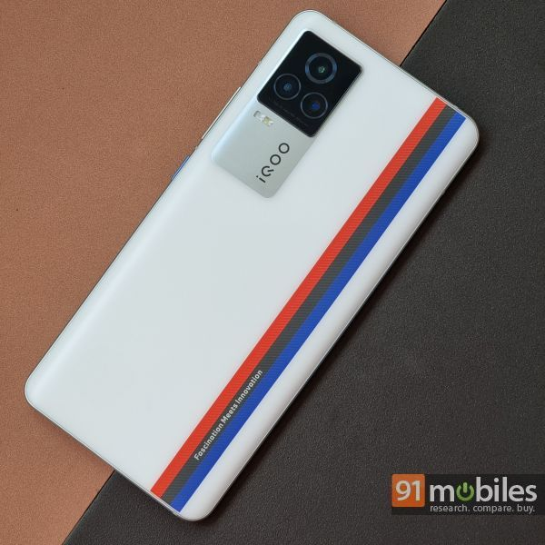 Snapdragon 888 phone iQOO 7