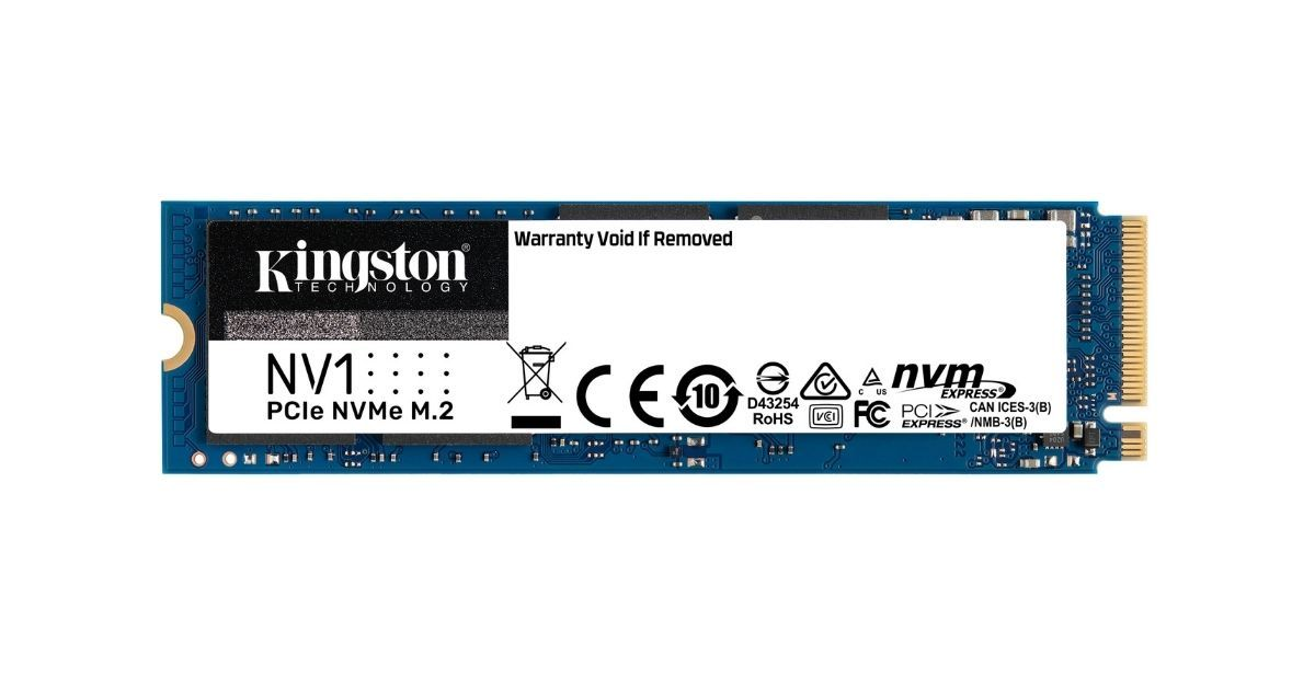 Kingston NV1 NVMe SSD launched in India, costs begin at Rs 7,600