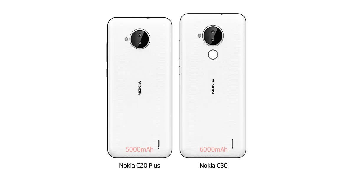 Nokia C30, Nokia C20 Plus with bigger batteries tipped to launch quickly