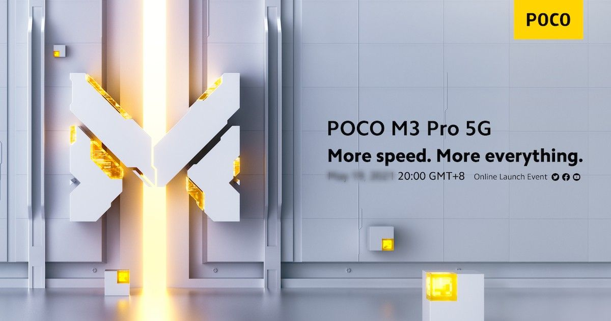 POCO M3 Professional 5G world launch date revealed formally