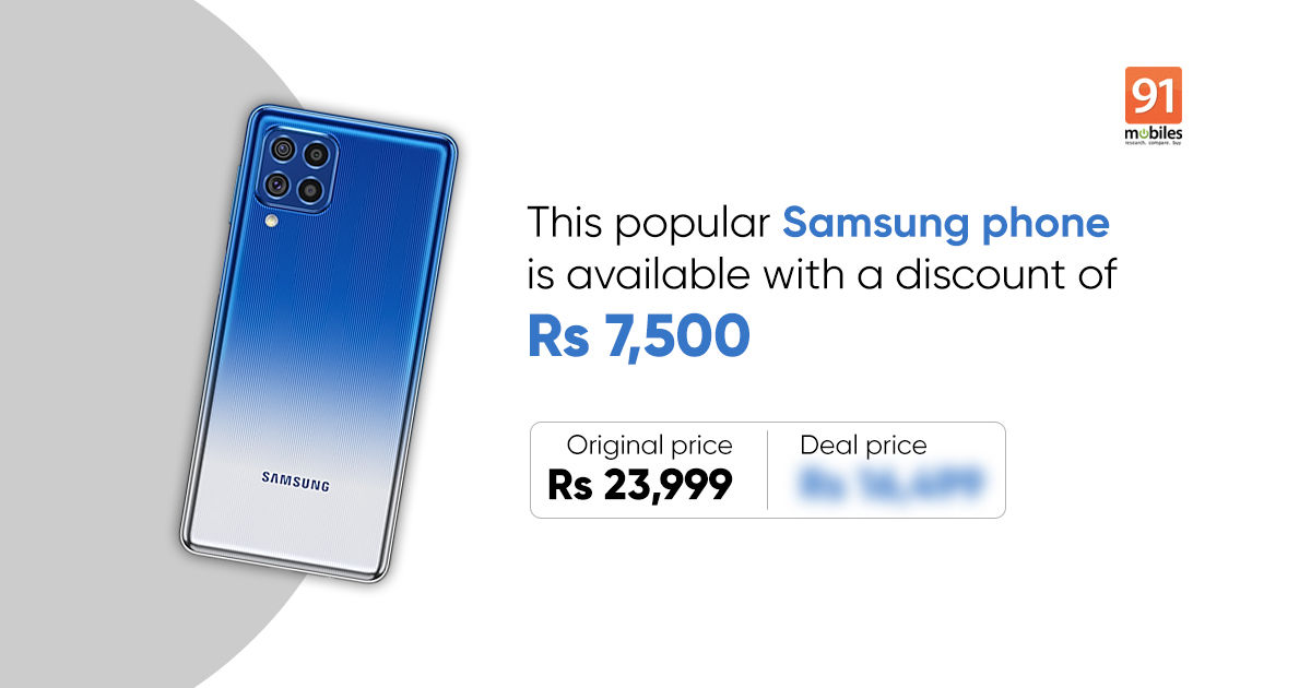 Deal alert! Final likelihood to get Rs 7,500 low cost on Samsung cellphone with 7,000mAh battery, 64MP digicam, and extra