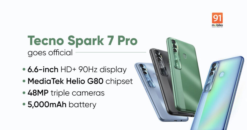 Tecno Spark 7 Pro Featured