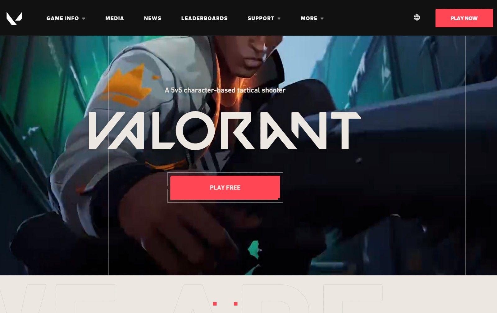 Valorant download