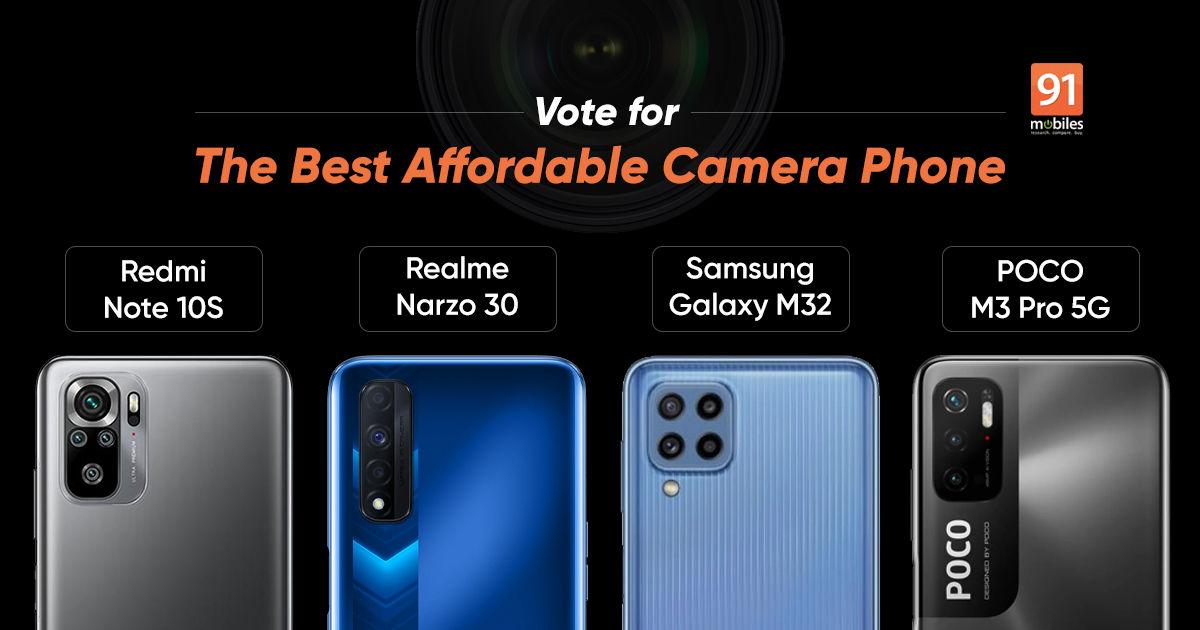 Blind Camera Comparison: Samsung Galaxy M32 vs POCO M3 Pro 5G vs Redmi Note 10S vs Realme Narzo 30