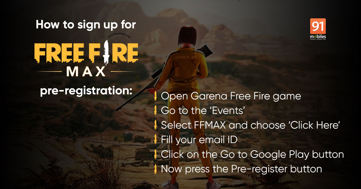 Garena Free Fireplace Max round-up: Free Fireplace Max obtain, launch date in India, pre-registration, and extra