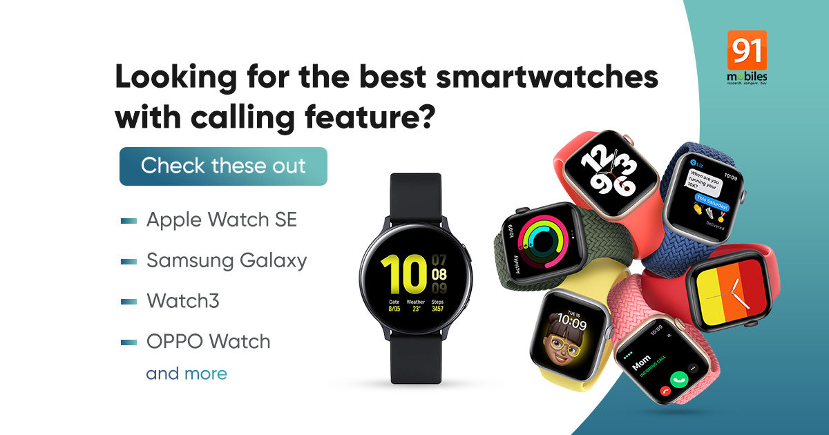 Smartwatch with calling: Finest smartwatches with calling characteristic you should purchase in India