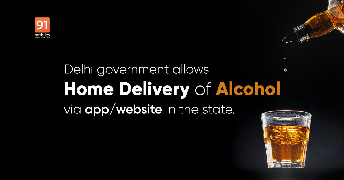 Now you can get alcohol delivered to your own home in Delhi by on-line orders by way of apps and web sites, right here's how
