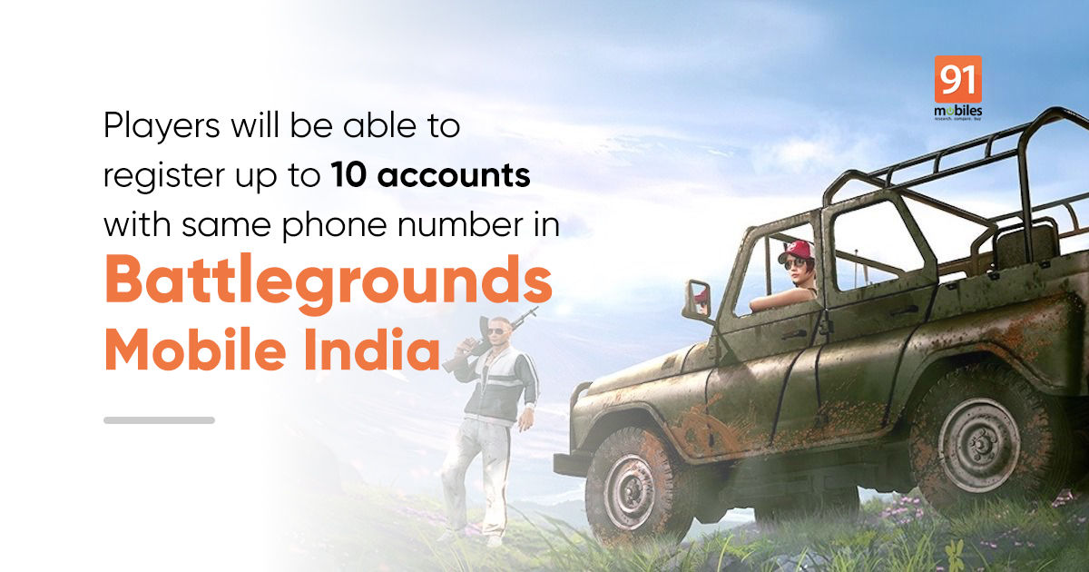 Battlegrounds Mobile India will require phone number and OTP authentication   91mobiles.com