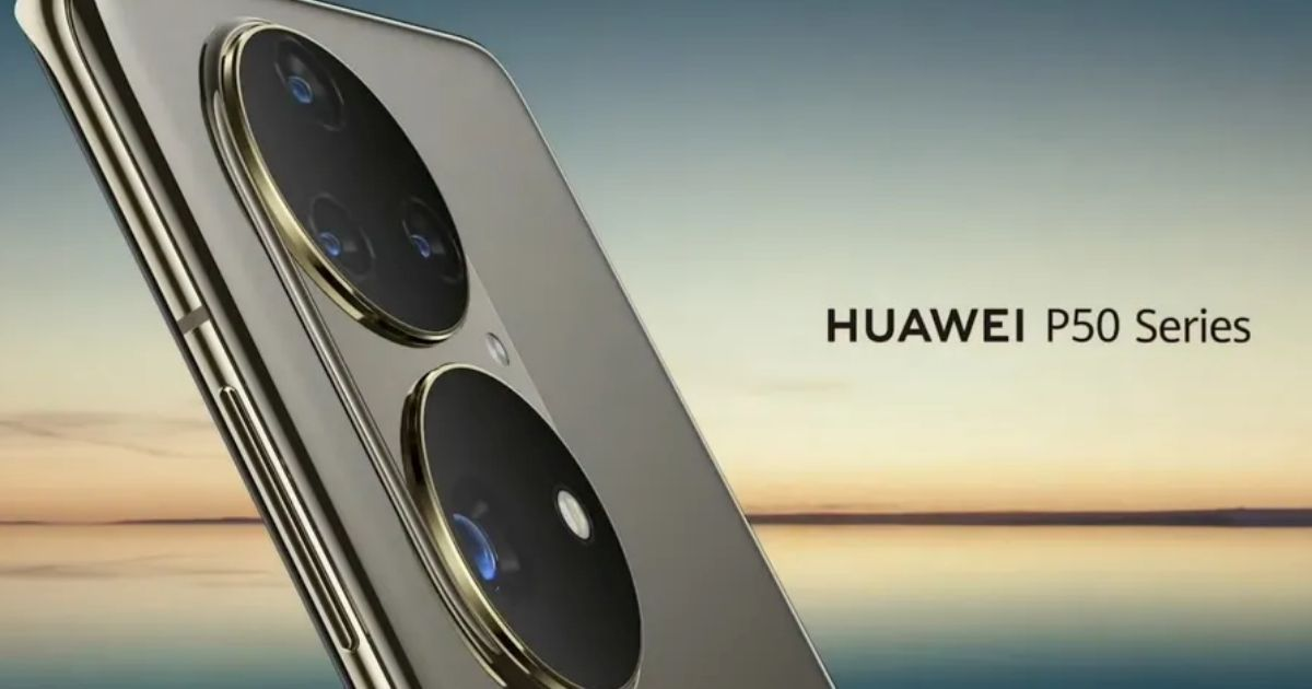 Huawei P50 official teaser reveals distinctive new rear digital camera format