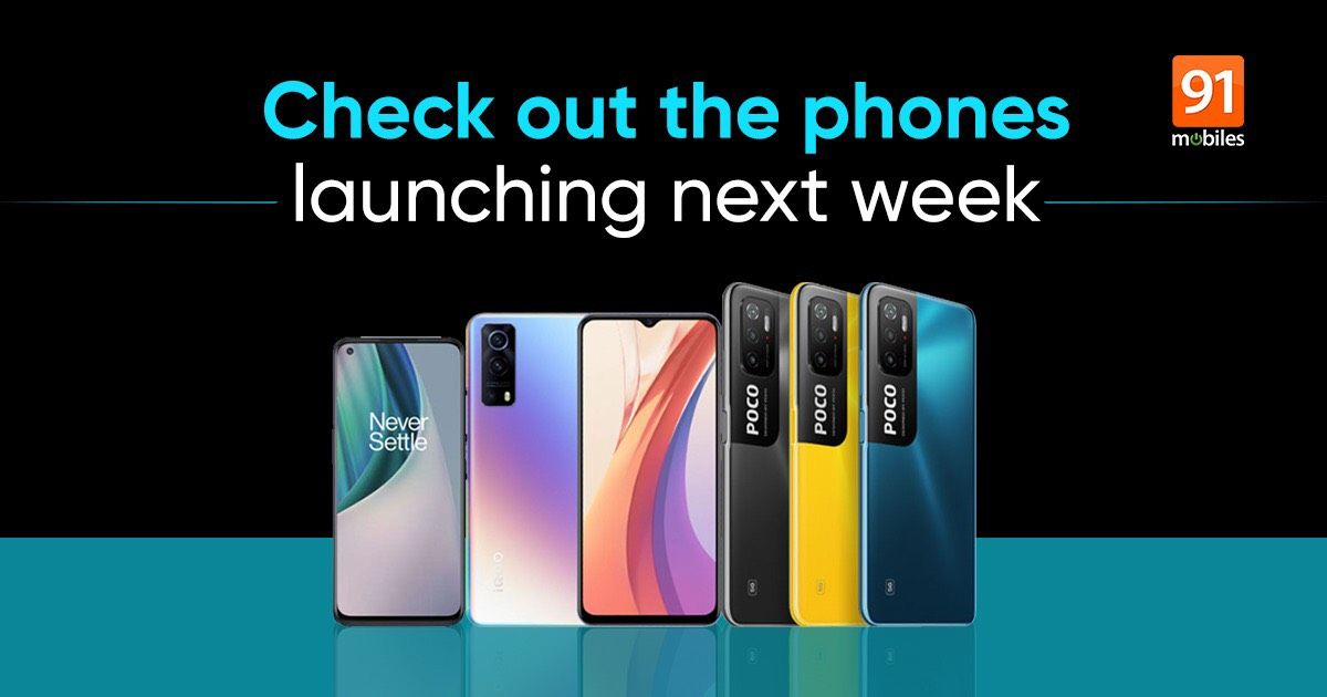 Telephones launching in India subsequent week: OnePlus Nord CE 5G, POCO M3 Professional, iQOO Z3, and extra