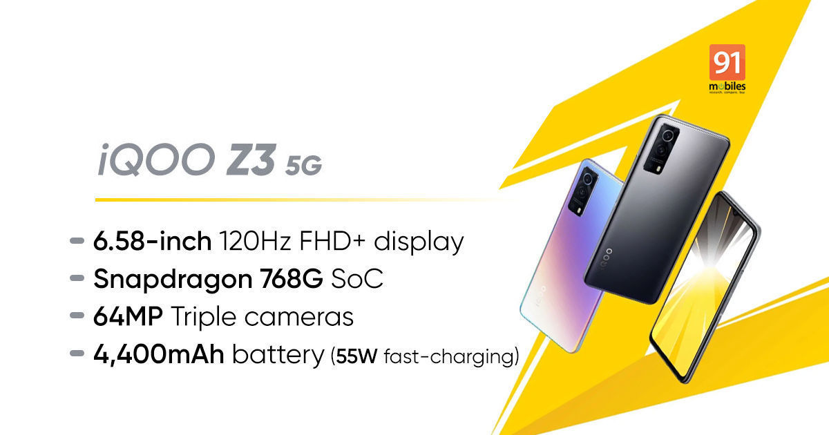 iQOO Z3 5G roundup: launch date, anticipated value in India, specs, and extra