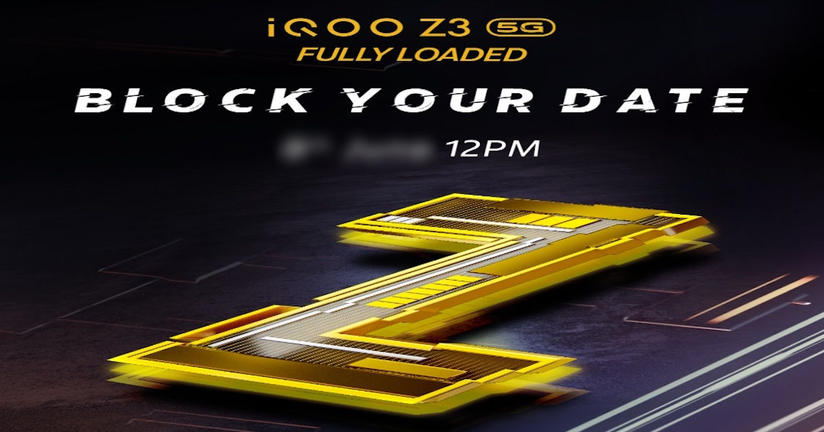 iQOO Z3 5G launch date in India revealed formally: anticipated worth, specs