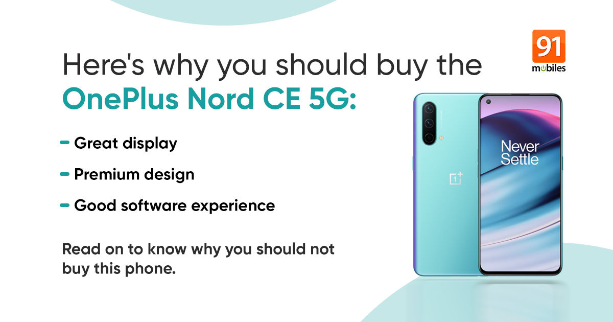 OnePlus Nord CE 5G: 3 causes to purchase and three causes to skip this Nord