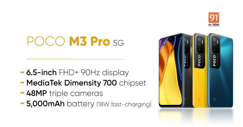 POCO M3 Pro India launch date revealed