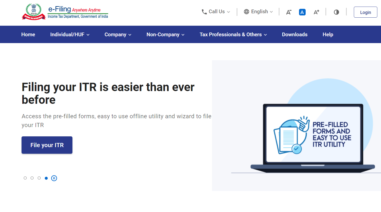 ITR - How to file Income tax return