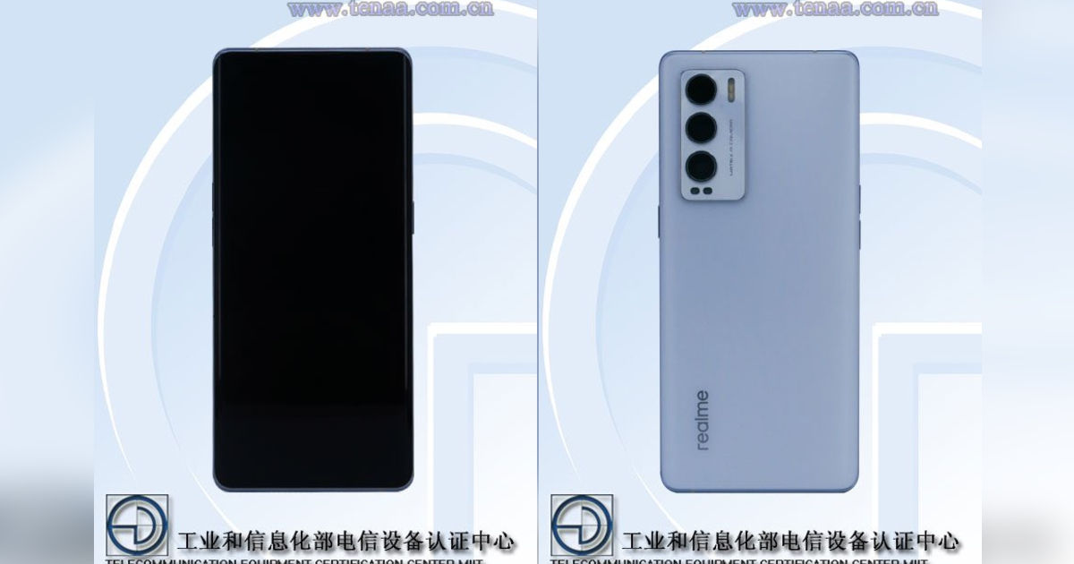 Realme RMX3366 (potential Realme X9) design revealed via photographs on TENAA