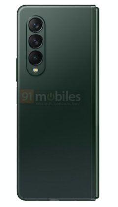 Samsung_Galaxy_Z_Fold3_green_color_render_07